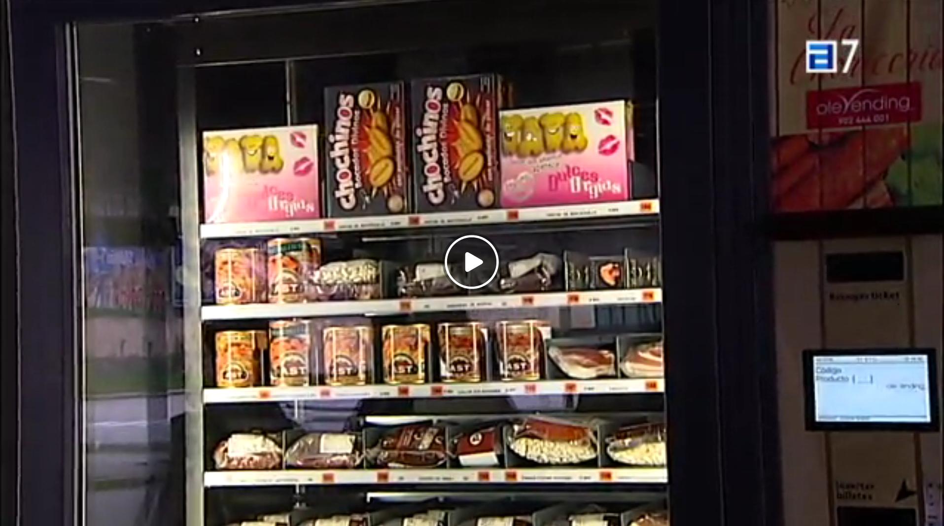máquinas expendedoras minimarket